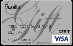 Silver Gift- Visa Gift Card