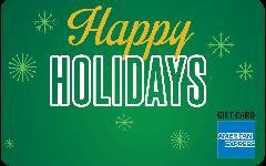 American Express® Holiday Green Gift Card