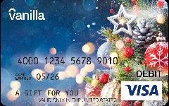 Vanilla Visa Magical Holiday Gift Card