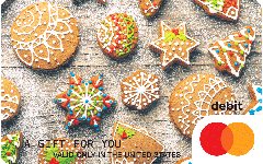 Mastercard Holiday Cookies Gift Card